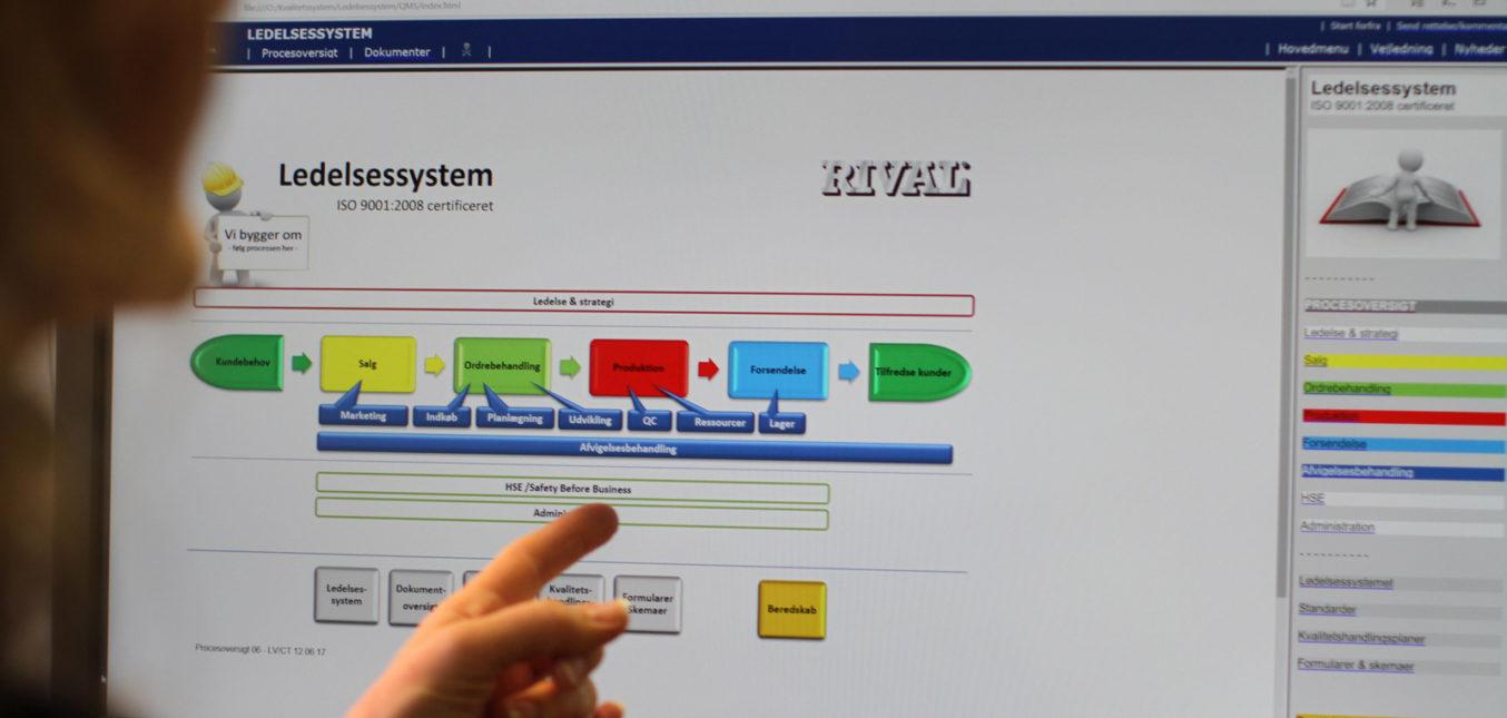 Dagligt fokus på processer, sporbarhed og afvigelser hos RIVAL