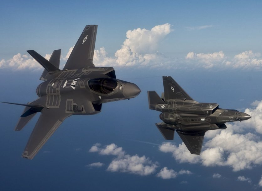 Fuel pots for F-35