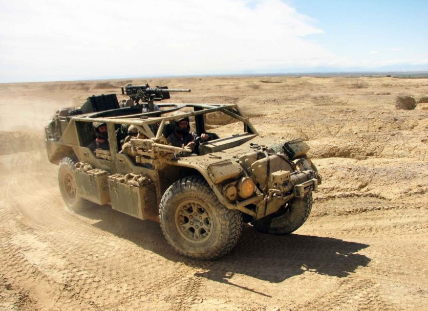 Advanced Parts to Combat Vehicle